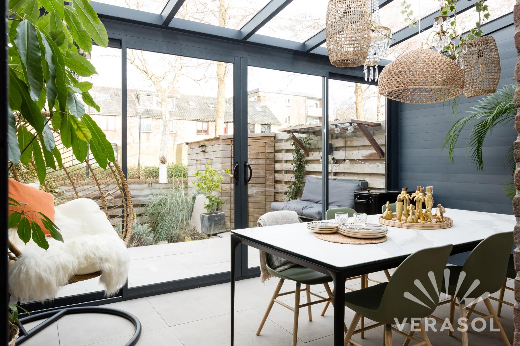 Terrassendächer, die Ihrem Zuhause ein privates Gefühl verleihen